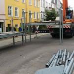 Demontage Balkonanlage in Rostock